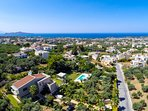 3,850 square meters fenced plot around the villa with full facilities