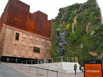 CaixaForum & its Vertical Garden, just 5 minutes walking from apartment.