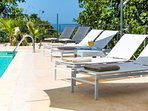 Enjoy relaxing in our pool side!
