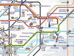 Zone 2 Tube & DLR trains. London Attractions eg 5min Tower Bridge, 8min St Pauls