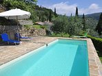 Heaven in Tuscany.  Wide expansive views, beautiful surroundings, private pool and tranquil setting