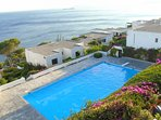 pool, garden and seaviews