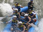 Experience the thrill of White Water Rafting!