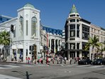 If you're a shopaholic, you'll love Rodeo Drive and Beverly Hills nearby