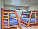 These bunk beds are perfect for the kids.
