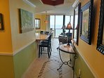 Entrance to Unit 601  Come on in view this specular unit. Unobstructed views of the Gulf of Mexico!