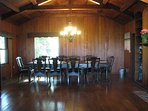 Dining room with seating 10