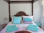 Bedroom Three - Queensize 4 poster and Ensuite