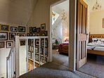 Photo gallery and views to twin and single bedrooms