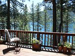 You can almost touch the Cool Waters of Donner Lake from our peaceful home.