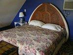 Guest cottage loft bedroom