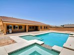 Stay in style at this lavish Las Vegas vacation rental house.