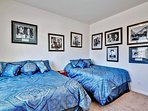 Themed bedrooms make your stay even better!