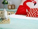Habitación nº4, cama de matrimonio, aire acondicionado/calefacción y televisión, muy luminosa!!!