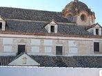Vistas desde las habitaciones 1 y 2, y la azotea, Iglesia de San Gil