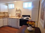 Beautiful, spacious and fully equipped kitchen