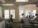 Guest Clubhouse fitness room