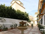 Private courtyard with access for residents only.
