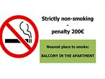 non-smoking apartment