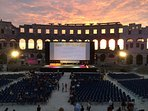 Pula Film Festival in the arena