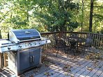Porch just outside of main foyer. Grill and propane available with nominal fee.
