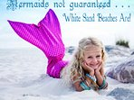 The sugar white sands of Orange Beach, AL . . . Calorie Free even!