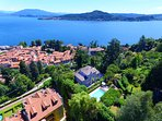 Villa Belvedere, Meina Lake Maggiore - NORTHITALY VILLAS Vacation Villa Rentals
