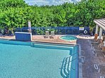 Cool off in the pool at this New Smyrna Beach vacation rental condo.