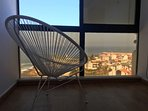 A room with a sea view