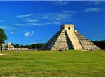 Take a trip to local sites like Chichen Itza, archaeological world heritage site
