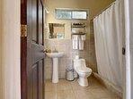 Private bathroom in the casita