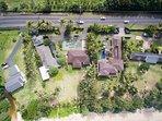 Arial View Kekela Beachfront Estate