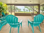 Enjoy the view from Nui's Lanai