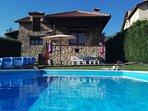Preciosa casa con piscina en Segovia.
