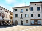 Piazza Grande Home is at the first floor of an elegant building of recognised historical value