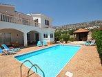 lovely villa set in the hillside  - zalatia area of Peyia
