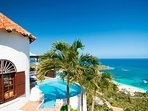 Hope Cottage...spectacular views from 1 BR villa...Oyster Pond, St Maarten