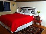 Loft bedroom - We change all linens, including Duvet after each guest