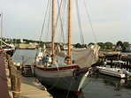 Sail 'The Ardelle' built in Essex, hailed from Gloucester