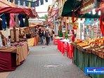 Denia street market