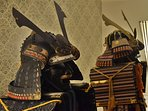 Samurai armors.