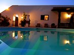 Relax poolside on a warm & balmy Puglian evening