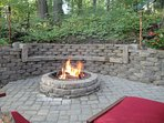 Relax by the firepit!