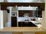 Modern fully fitted and equipped kitchen