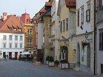 Ljubljana city center only minutes away