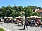 Flea market on Sundays (2 min away)