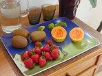 Continental Breakfast -Seasonal Fruits