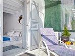 GREEK GODDESS CAYENNE private veranda