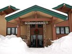 Welcome to Scandinavian Lodge!  When you enter the front you are 1/2 way between the 1st & 2nd floor