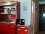 Kitchenette d'un studio 26 m2 ou 36 m2